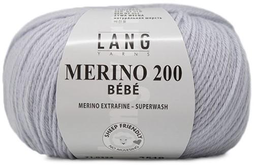 Lang Yarns Merino 200 Bebe 324 Pearl Grey