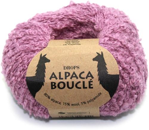 Drops Alpaca Bouclé Uni Colour 3250 Licht-oudroze