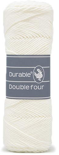 Durable Double Four 326 Ivory