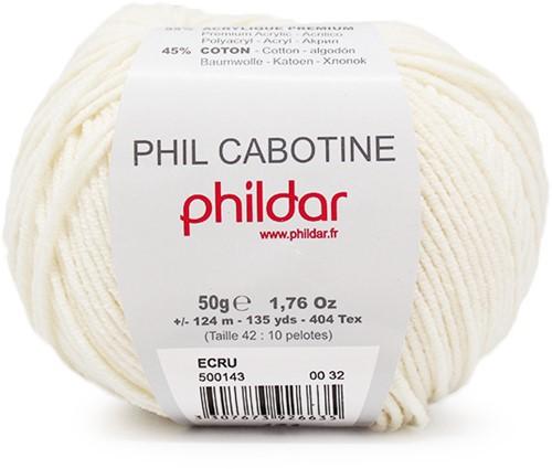 Phildar Phil Cabotine 1359 Ecru