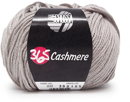 Lana Grossa 365 Cashmere 32 Light Grey