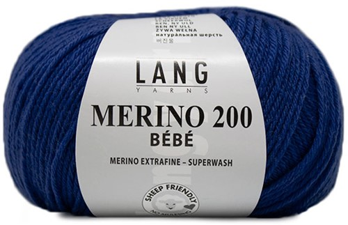 Lang Yarns Merino 200 Bebe 332 Marine