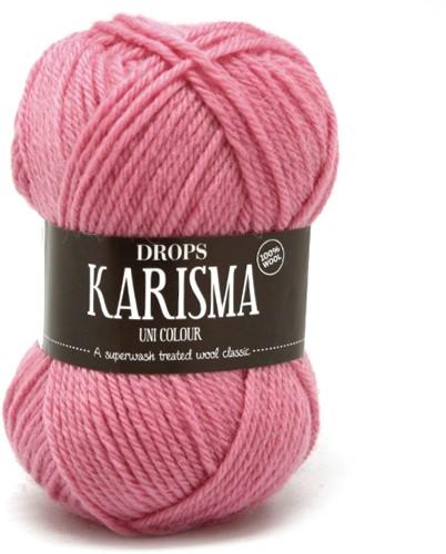 Drops Karisma Uni Colour 33 Medium-pink
