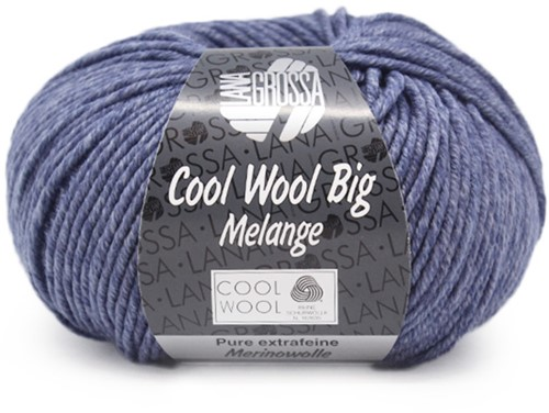 Lana Grossa Cool Wool Big Melange 341 Pigeon Blue Mottled
