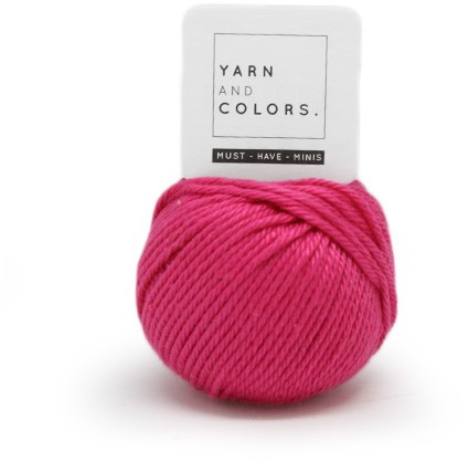 Yarn and Colors Must-have Minis 034 Deep Cerise