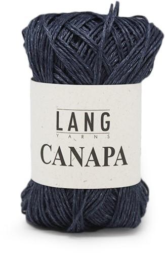 Lang Yarns Canapa 34 Dark Jeans