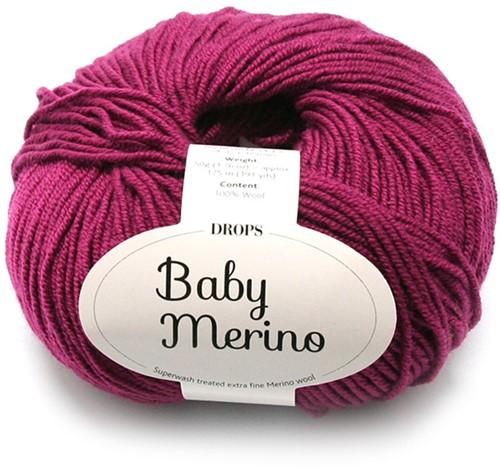 Drops Baby Merino Uni Colour 34 Heide