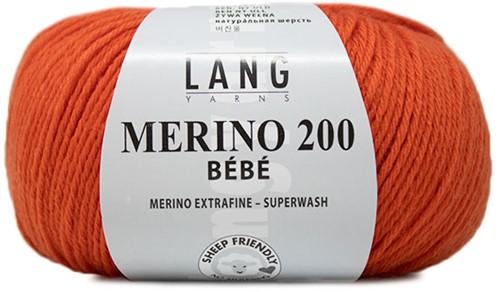 Lang Yarns Merino 200 Bebe 359 Orange