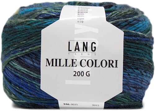 Lang Yarns Mille Colori 200 Gr. 35