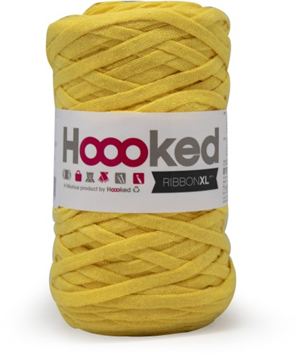 Hoooked RibbonXL 35 Lemon Yellow