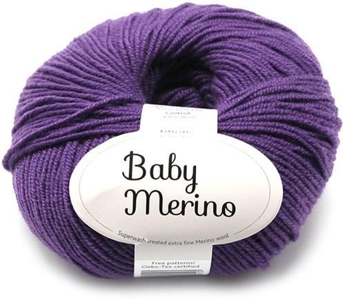 Drops Baby Merino Uni Colour 35 Donkerpaars