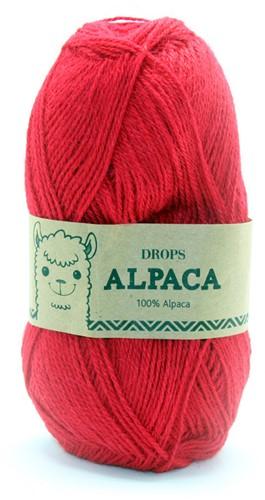 Drops Alpaca Uni Colour 3620 Red