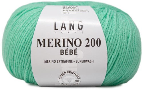 Lang Yarns Merino 200 Bebe 373 Smaragd