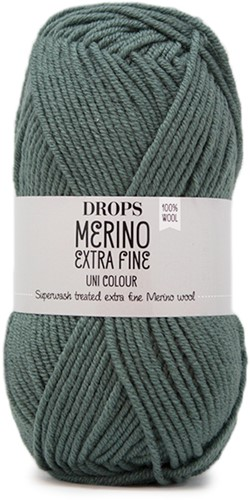 Drops Merino Extra Fine Uni Colour 37 Misty Forest