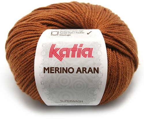 Katia Merino Aran 37 Light brown