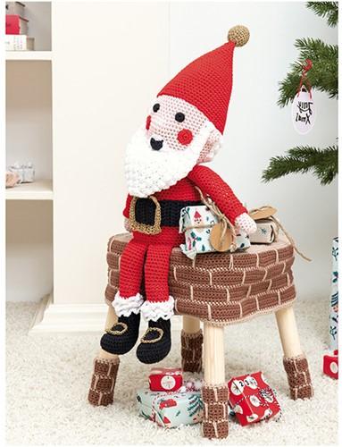 Krukhoes Kerstman Haakpakket