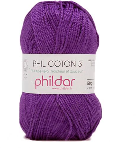 Phildar Phil Coton 3 1445 Violet