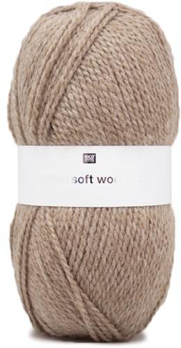 Rico Creative Soft Wool Aran 3 Beige