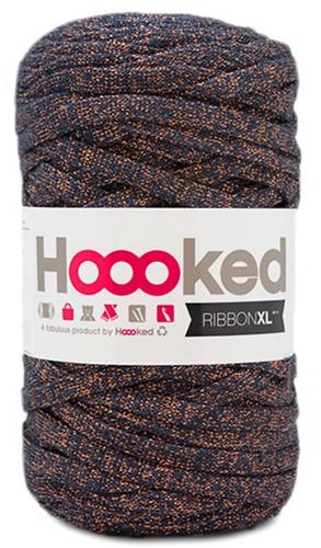 Hoooked RibbonXL Lurex 8 Stardust Bronze