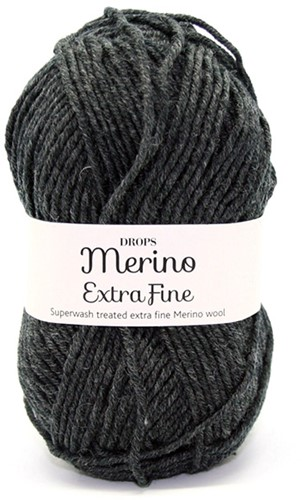 Drops Merino Extra Fine Mix 03 Anthraciet-mix