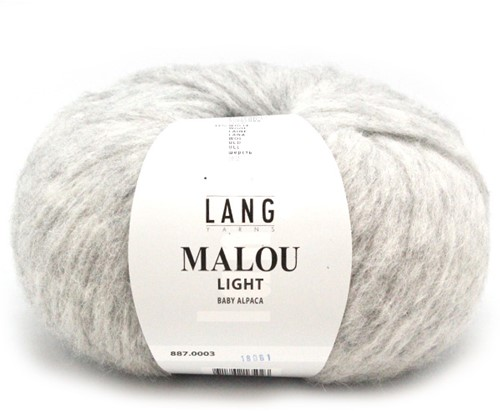 Lang Yarns Malou Light 3 Light Grey