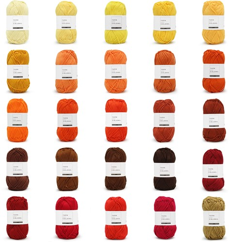 Yarn and Colors Must-have 25 Kleuren Pakket 4 Tequila Sunrise