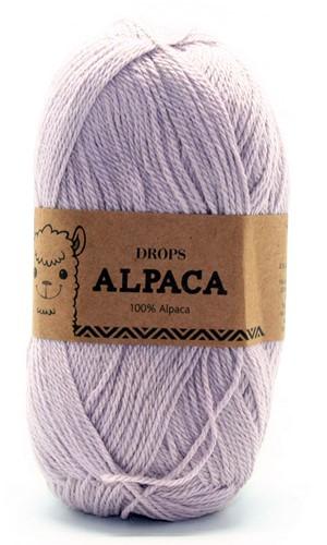 Drops Alpaca Uni Colour 4010 Parelgrijs