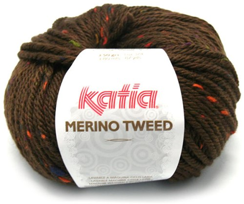 Katia Merino Tweed 408 Dark brown