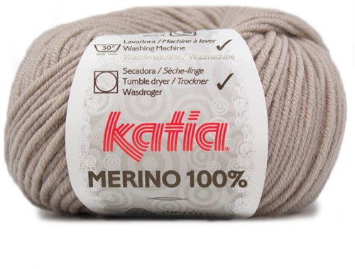 Katia Merino 100% 40 Stone grey