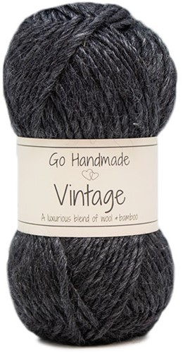 Go Handmade Vintage 40 Dark Grey