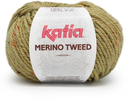 Katia Merino Tweed 410 Olive green