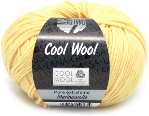 Lana Grossa Cool Wool 411 Vanilla