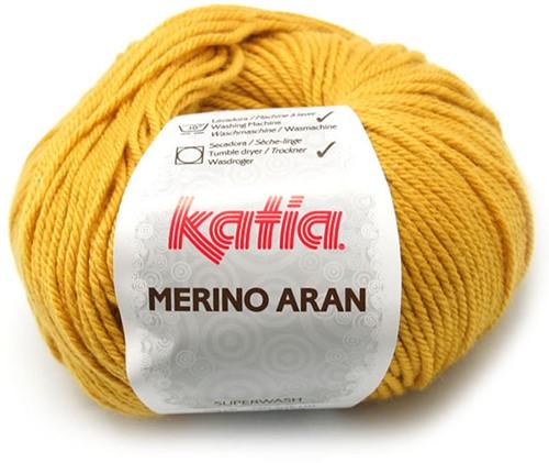 Katia Merino Aran 41 Light mustard