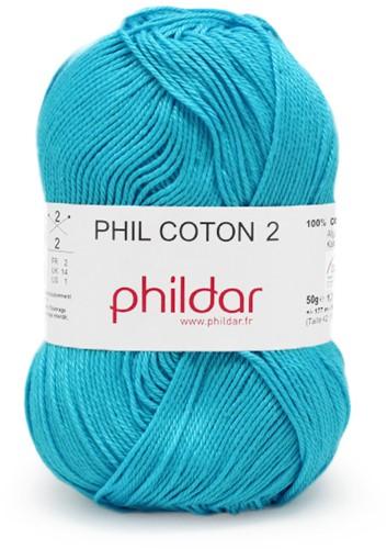 Phildar Phil Coton 2 1004 Turquoise