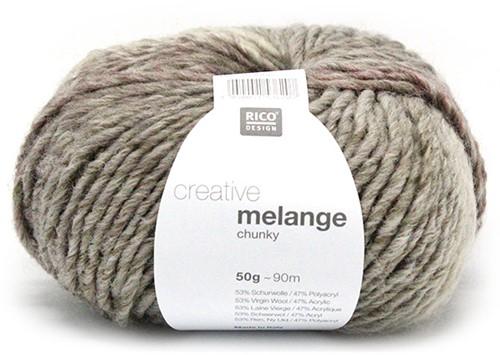 Rico Creative Melange Chunky 042 Lilac-Olive