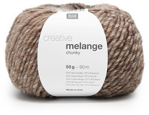 Rico Creative Melange Chunky 043 Camel-Brown