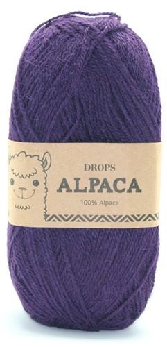 Drops Alpaca Uni Colour 4400 Aubergine