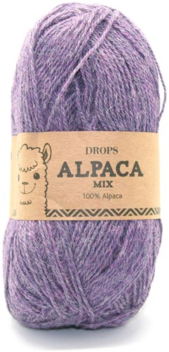 Drops Alpaca Mix 4434 Paars/violet
