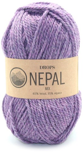 Drops Nepal Mix 4434 Paars/violet