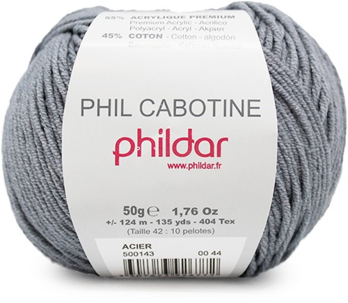 Phildar Phil Cabotine 1444 Acier
