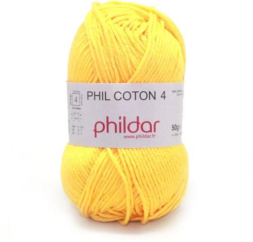 Phildar Phil Coton 4 1019 Soleil