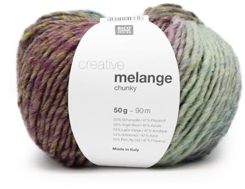 Rico Creative Melange Chunky 045 Grass-Lilac
