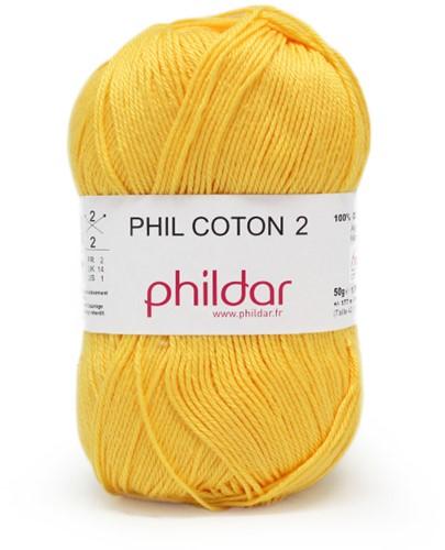 Phildar Phil Coton 2 1019 Soleil