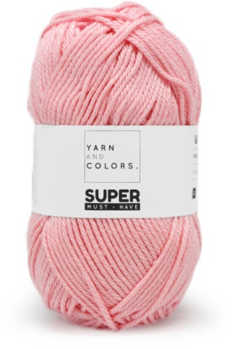 Yarn and Colors Bobbles Comfy Cushion Haakpakket 046 Pastel Pink