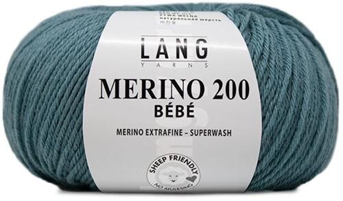 Lang Yarns Merino 200 Bebe 474 Atlantic