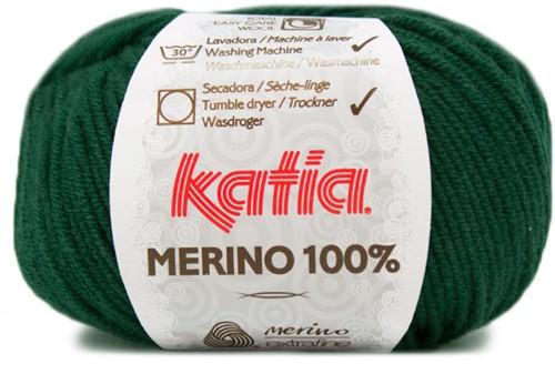 Katia Merino 100% 48 Bottle green