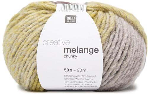 Rico Creative Melange Chunky 049 Pink-Grey