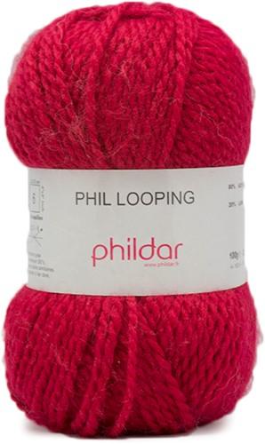 Phildar Phil Looping 1038 Amarante