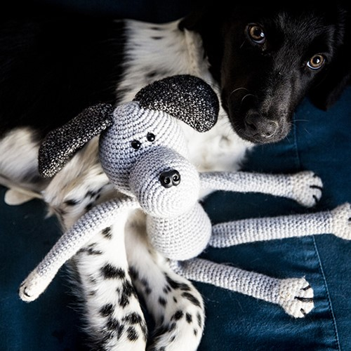 Haakpatroon Knuffelhond Max