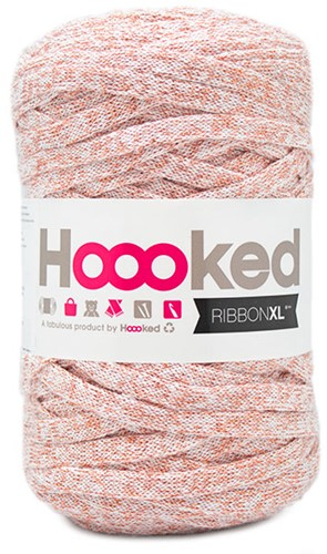 Hoooked RibbonXL Lurex 5 Cristal White